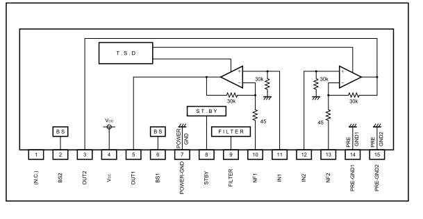 микросхемы стереоусилителя