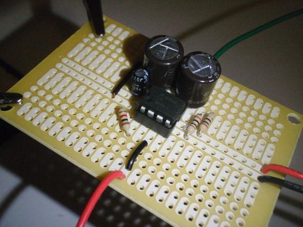 Аудио усилитель на микросхеме