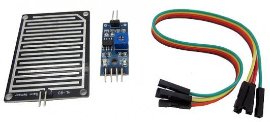 Arduino и датчик дождя