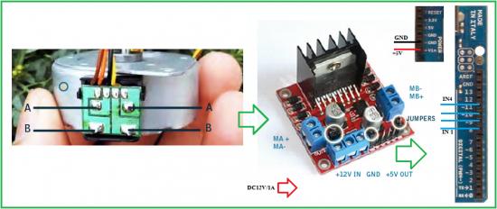 Подключение контроллера Arduino