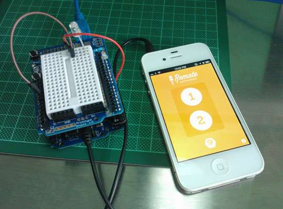 Arduino iphone