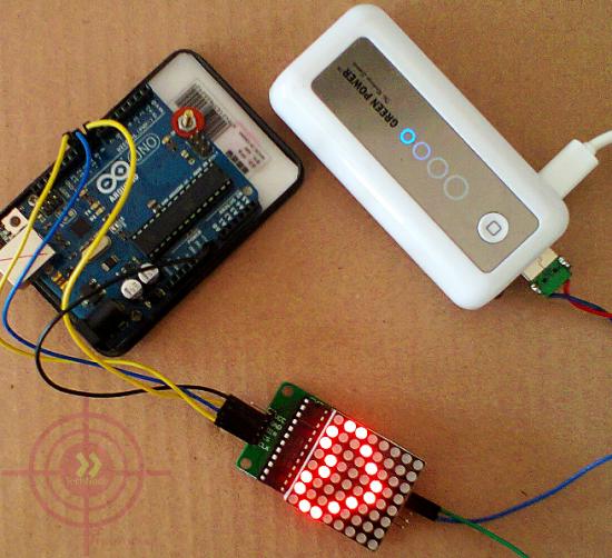 Светодиодная матрица и Arduino