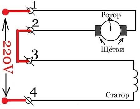 Организации электродвигатель мун 2 направление вращения документ