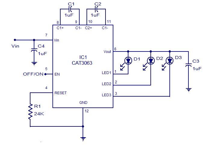 Схема светодиодного драйвера