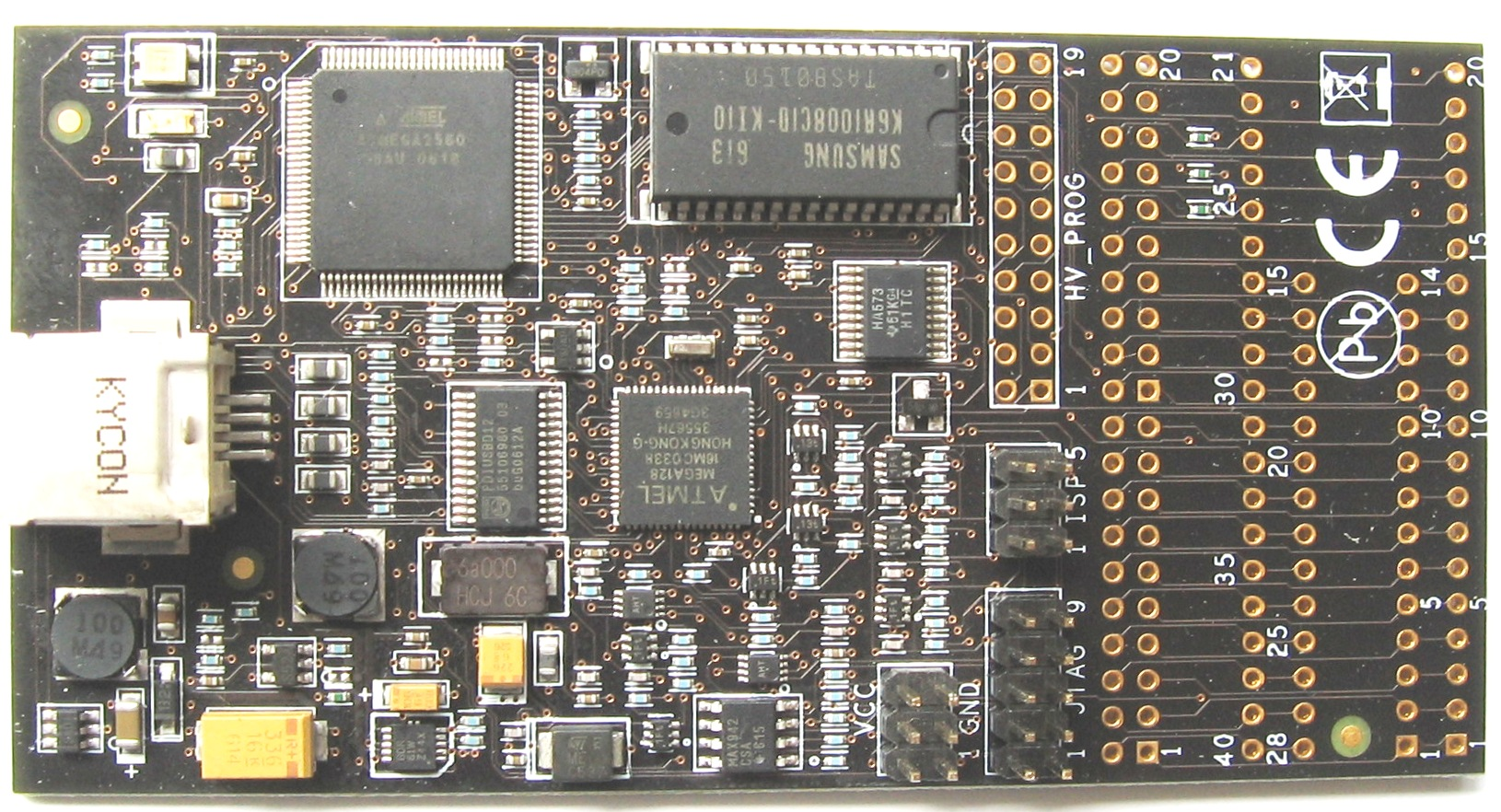 Avr Dragon Isp And Emulator For Microcontrollers Mrp01 Usb Programmer