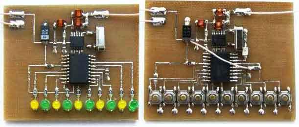 Схема радиоуправления на 10