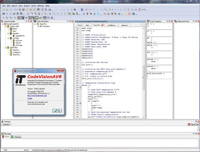 контроллерами AVR от IDE.