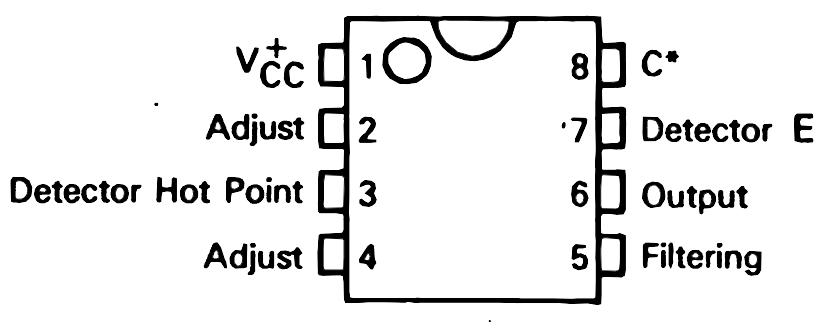 Схема металлодетектора на